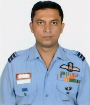 Wing Commander Rajiv Dobhal, Vayu Sena Medal (Gallantry) | Photo: IAF