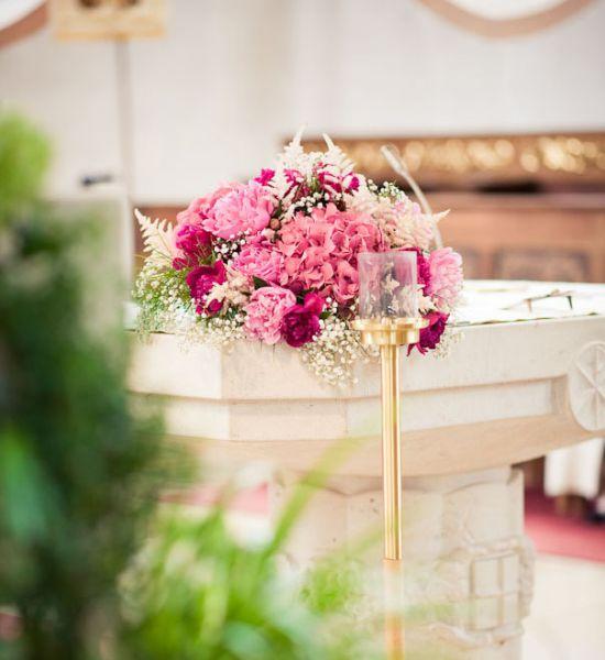 Hochzeitsfloristik  Strauchdiebin