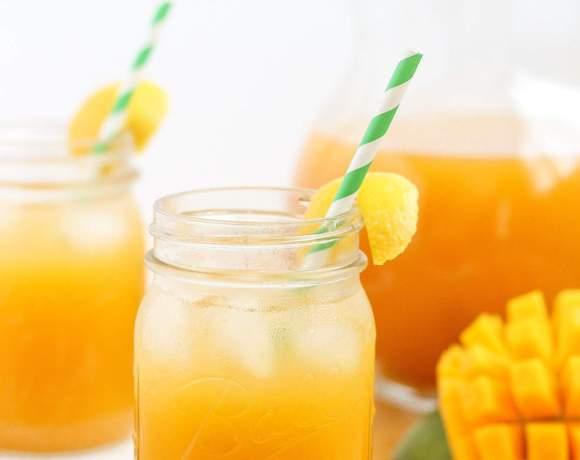 Mango Green Tea Lemonade