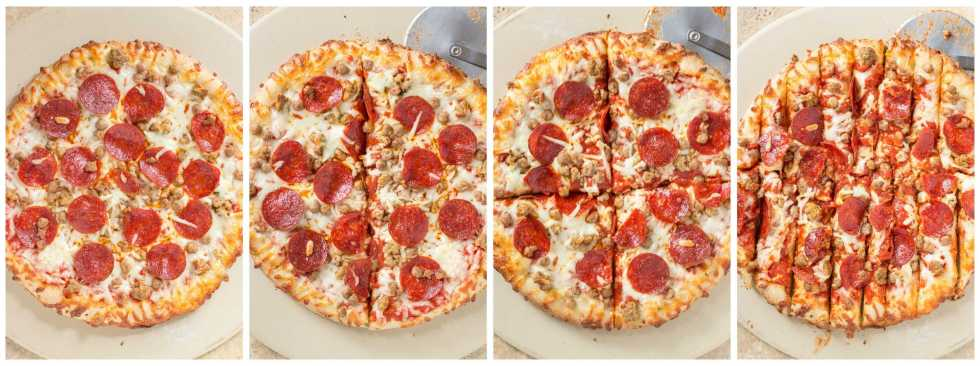 Make the right call during the BIG game this year and tailgate at home. It's simple, easy and stress free which will leave you sitting down just in time to enjoy the game. Serve DIGIORNO® pizza, cut into strips with homemade dipping sauce on the sides. Sure to be a crowd pleaser and having you scoring a TOUCHDOWN! | Strawberry Blondie Kitchen