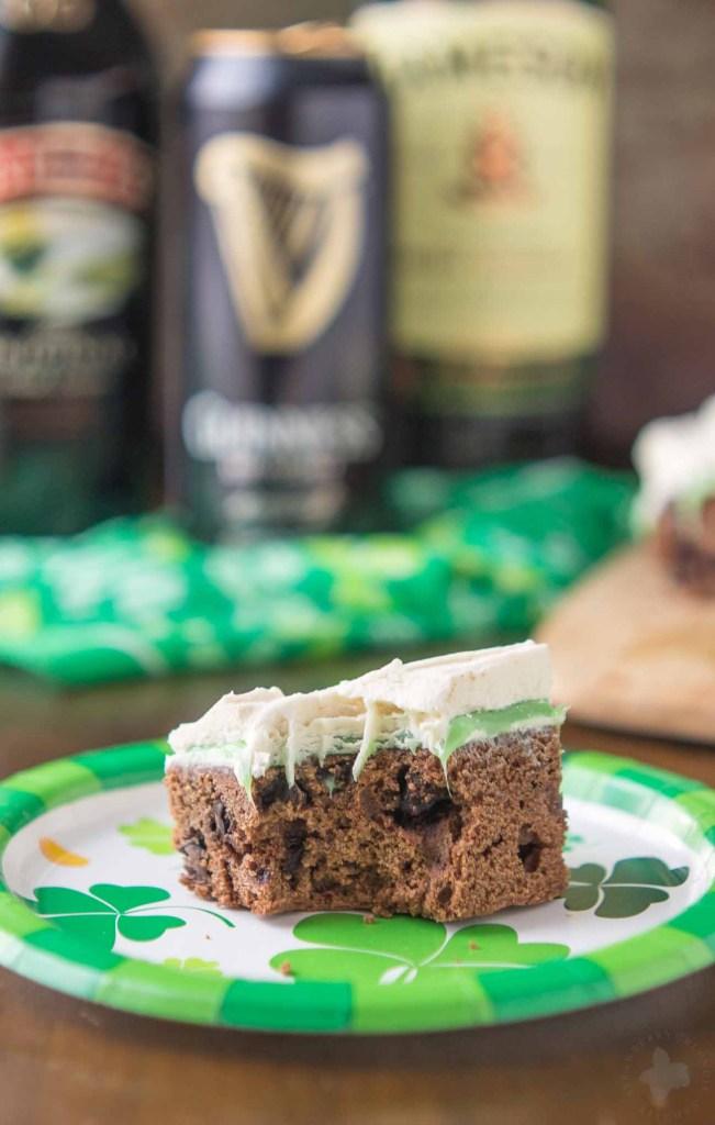 Irish Car Bomb Brownies Recipe- Strawberry Blondie Kitchen