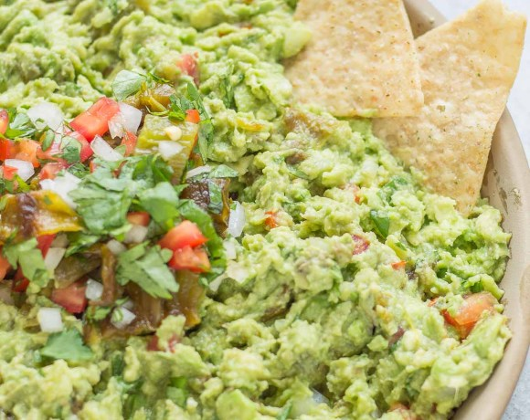 Hatch Chile Guacamole