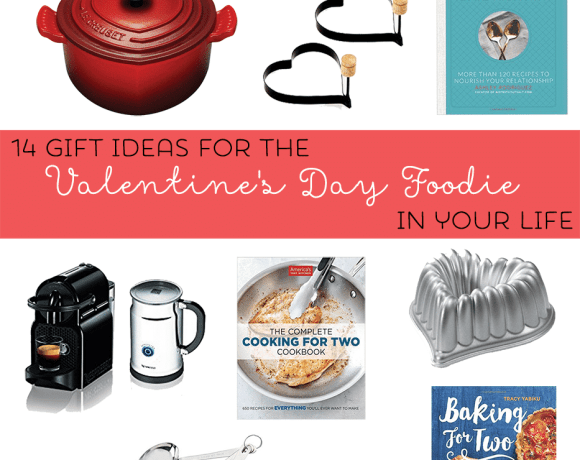 Stumped on what to gift your sweetheart foodie this year? Here's a guide for 14 of the most perfect Gifts for the Valentine's Day Foodie in your life. | Strawberry Blondie Kitchen