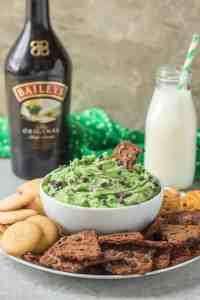 Baileys Mint Chocolate Chip Dip