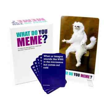 holiday gift guide what do you meme adult party game