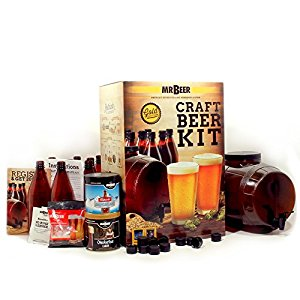 holiday gift guide Mr. Beer Premium Gold Edition 2 Gallon Homebrewing Craft Beer Making Kit