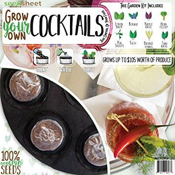 holiday gift guide grow your own cocktail garden