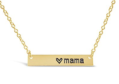 holiday gift guide mama necklace in gold