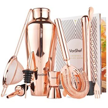 holiday gift guide premium copper cocktail tool set