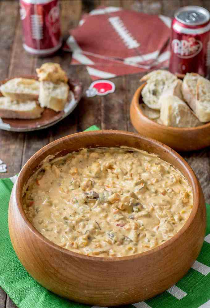 Slow Cooker Philly Cheesesteak Dip