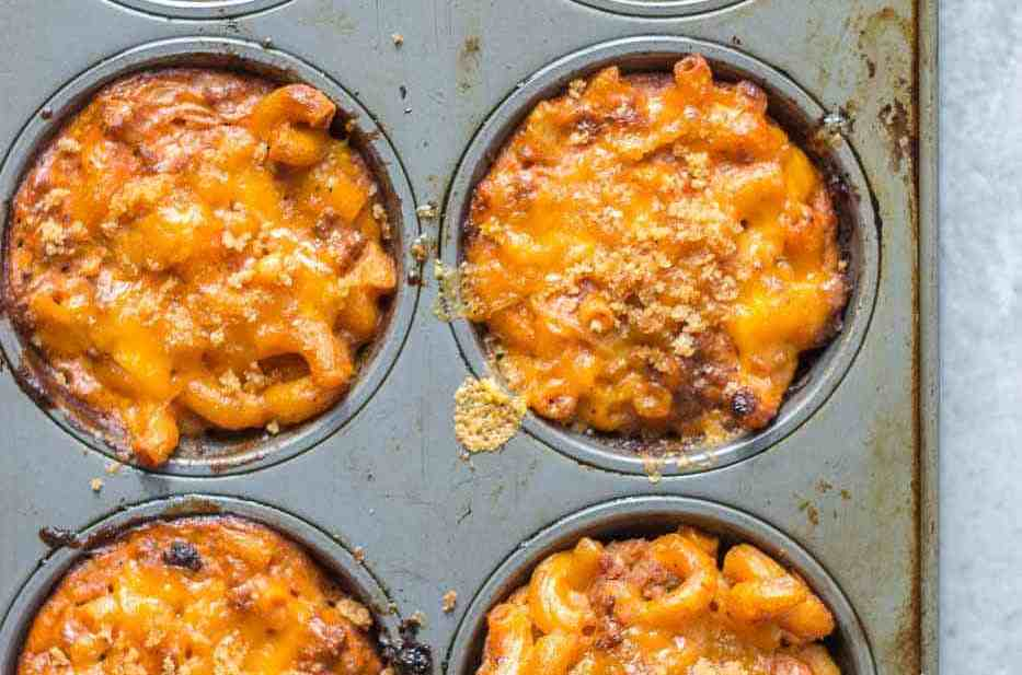Sloppy Macaroni and Cheese Cups