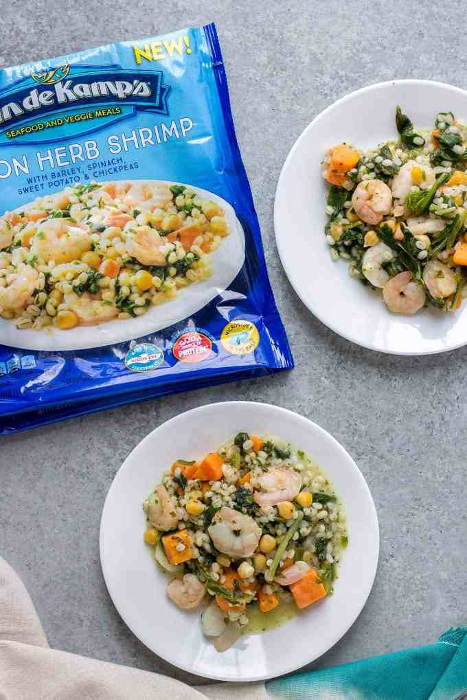 Convenience and health with Van de Kamp's Seafood and Veggie Meals