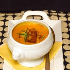 Squash & Sunchoke Soup