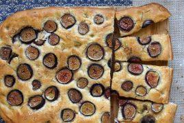 Fig & Rosemary Schiacciata (Focaccia)
