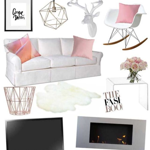 Winter Colours For Home Décor | Strawberry Squeeze 2
