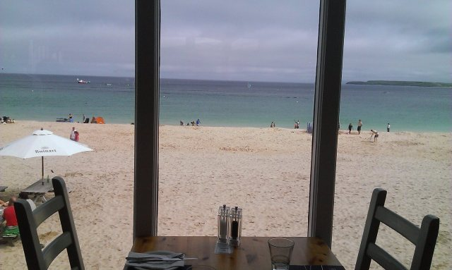 Porthminster beach cafe - St Ives, Cornwall | UK Lifestyle Blog