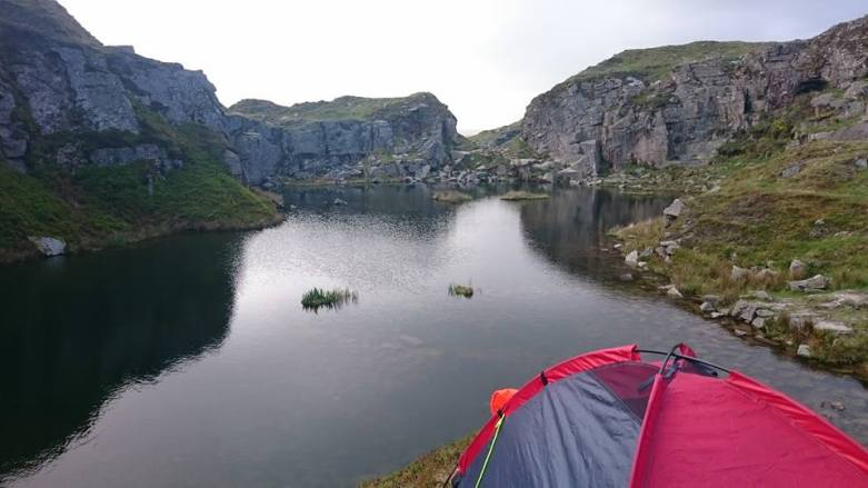 Wild Camping and Walking in Dartmoor National Park #ParadiseMoment | UK Lifestyle Blog