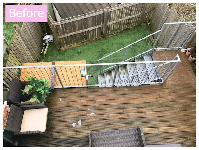 How we transformed our garden with less than £100, and you can too! | UK Lifestyle Blog