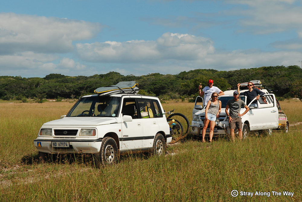 Mozambique-cycle-team-in-the-Elephant-Reserve