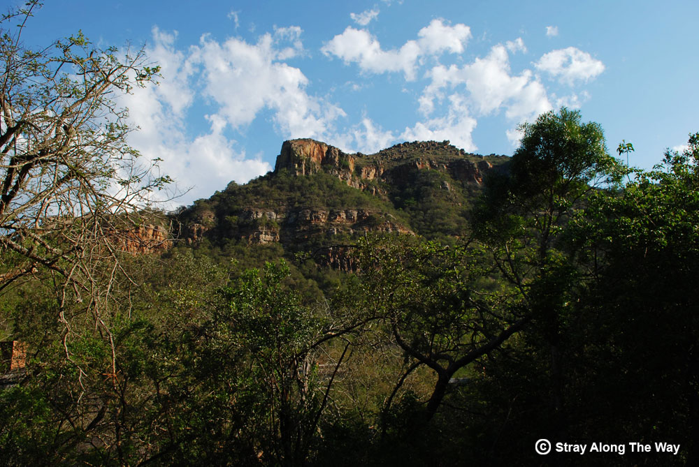 The Ngotshe Mountain at Ithala Game Reserve