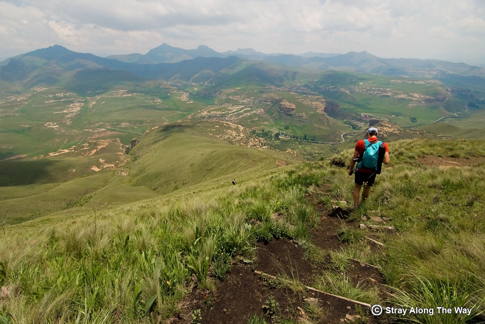 Bevan-descending-the-drakensberg