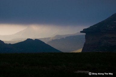 Dark Clouds in the Golden Gate National Park