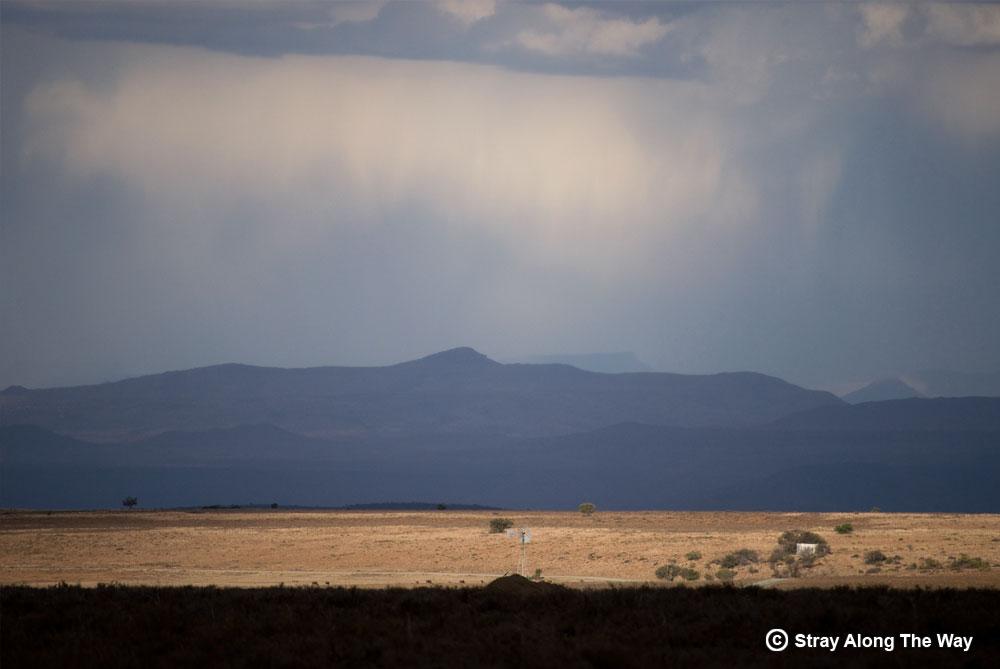 Mountain Zebra National Park view over the Karoo
