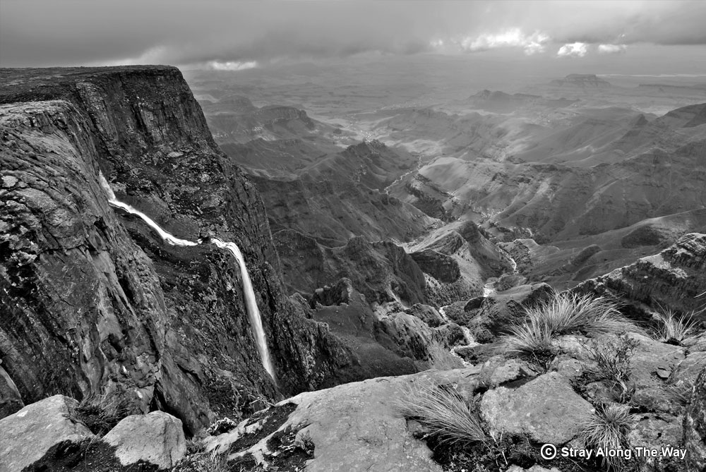 Tugela falls at the top of the amphitheatre
