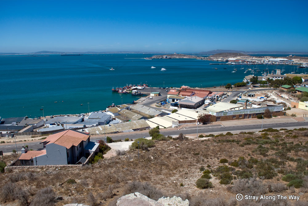 Saldanha Bay areial view