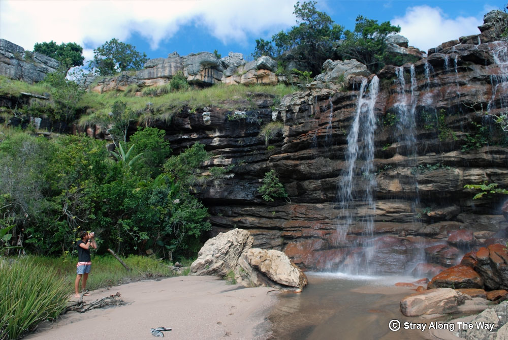 Byron Langley at Mnyameni Falls