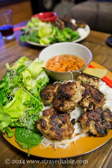 Easy Bun Cha (Vietnamese pork patties with dipping sauce)