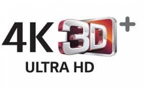 HD, 4K, 3D