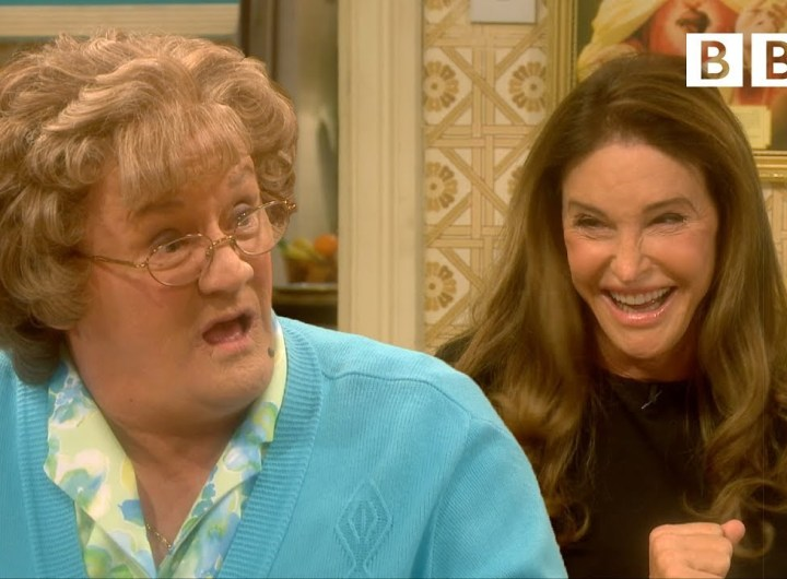 The time Caitlyn Jenner met Mrs Brown | All Round To Mrs Brown's - BBC