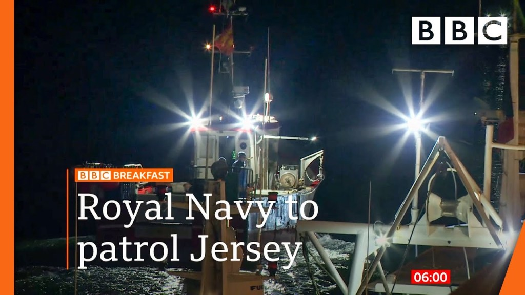 UK sends Royal Navy to patrol Jersey amid fishing row with France - BBC News live 🔴 BBC