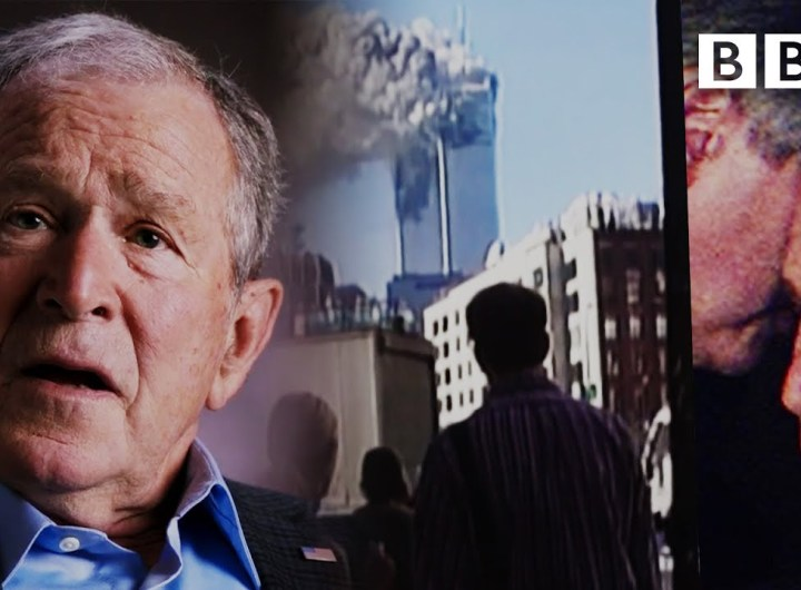 9/11: George Bush Finds Out About the Attack on the South Tower - BBC