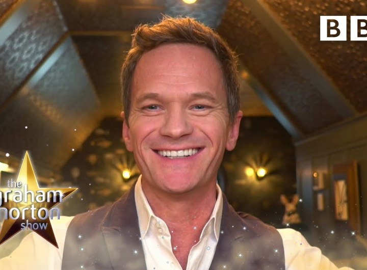 Neil Patrick Harris kissed Graham the first time they met!   The Graham Norton Show - BBC