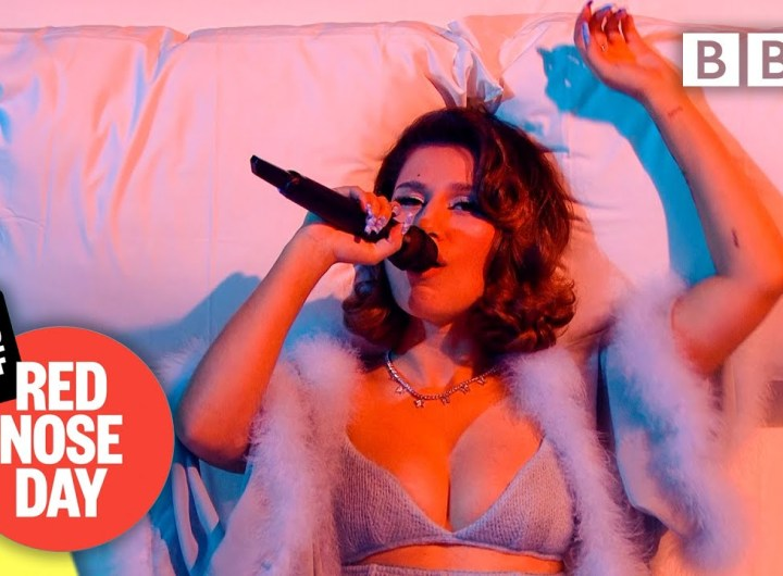 @Joel Corry and @RAYE - BED @Comic Relief: Red Nose Day 2021 - BBC