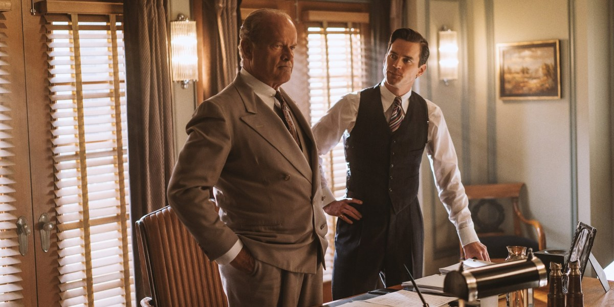 Kelsey Grammer's The Last Tycoon is now streaming on Amazon Prime Video