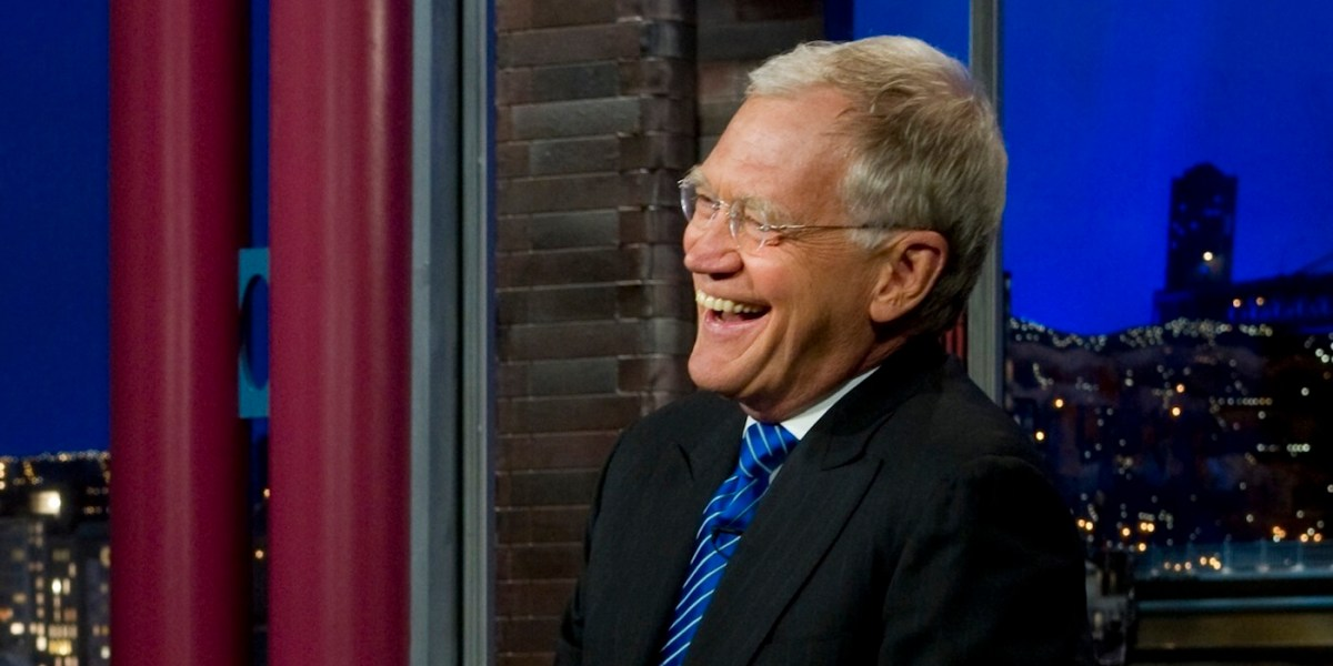 David Letterman signs on for new Netflix series