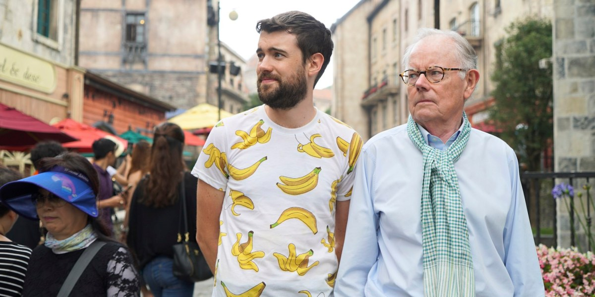 Jack Whitehall: Travels With My Father – watch a new trailer from the upcoming Netflix series