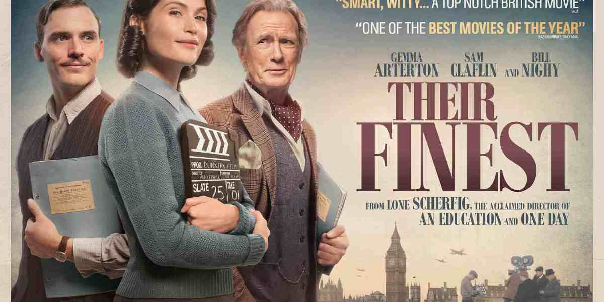 Netflix adds Gemma Arterton and Bill Nighy's WW2 comedy-drama,Their Finest