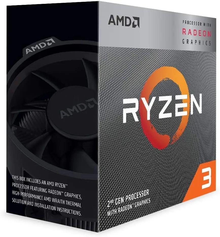 amd ryzen 3 3200g processor image