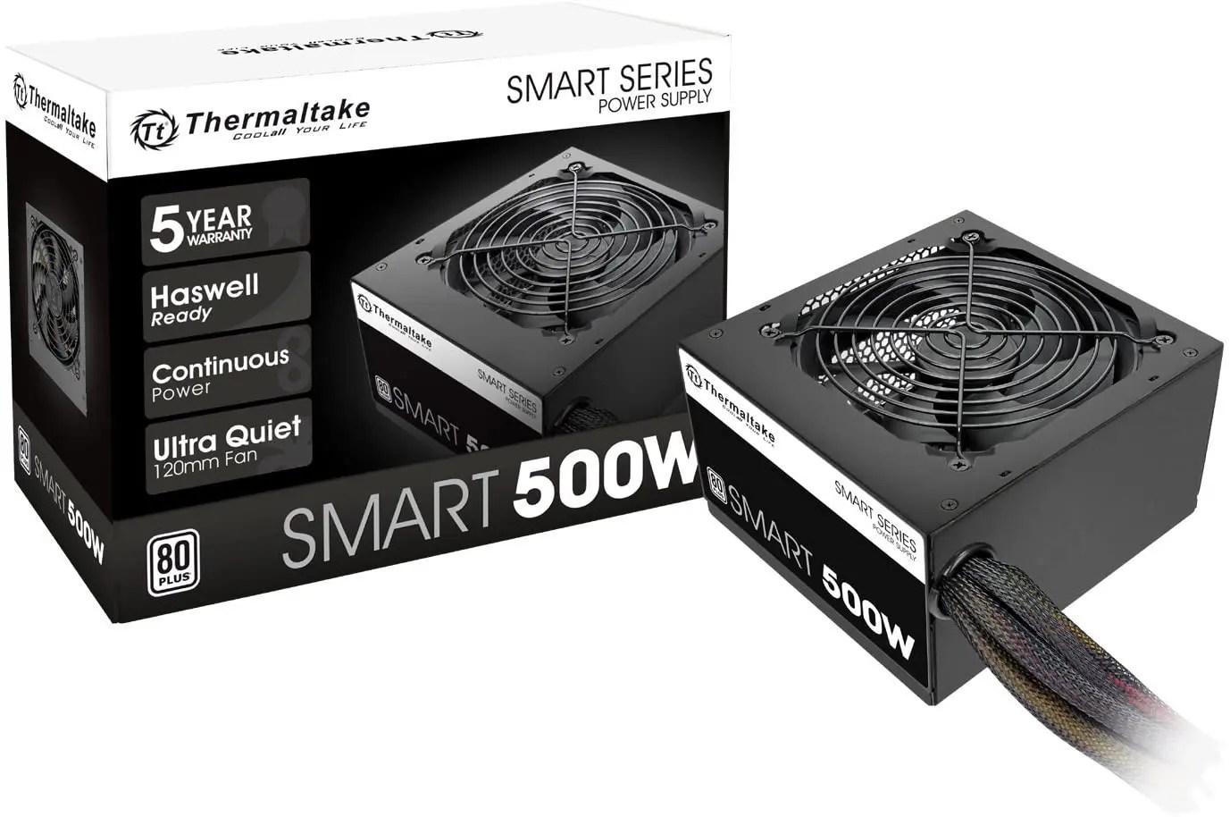 thermaltake smart 500w psu image