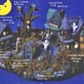 Ceramic painters web site bisque halloween village