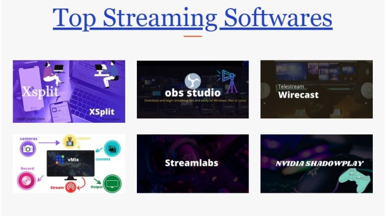 top streaming software