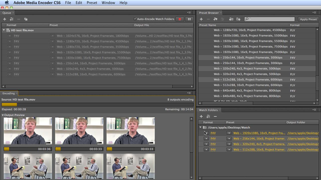 Tutorial: Adobe Media Encoder CS6-UPDATED! - Videoguys Blog Videoguys Blog