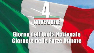 Photo of Giorno dell'Unità Nazionale e Giornata delle Forze Armate