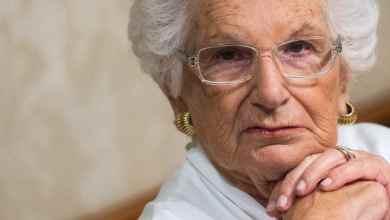Photo of Liliana Segre cittadina onoraria dell'Aquila.