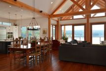 Feature Project Pender Harbour Timber Frame Streamline