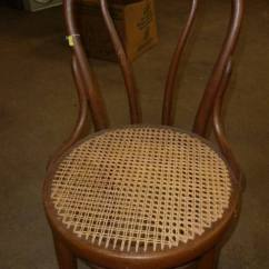 Cane Bottom Chairs Hand Chair Wood 6 Antique Including Bent Back And